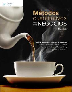 METODOS CUANTITATIVOS PARA LOS NEGOCIOS