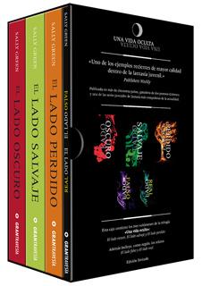 SERIE UNA OCULTA (PAQUETE 3 VOLUMENES Y 2 RELATOS)