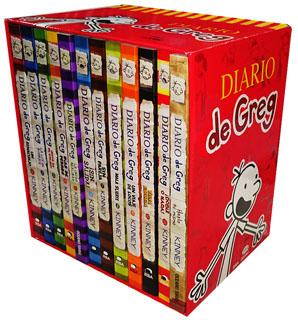 PAQUETE DIARIO DE GREG (12 VOLUMENES)