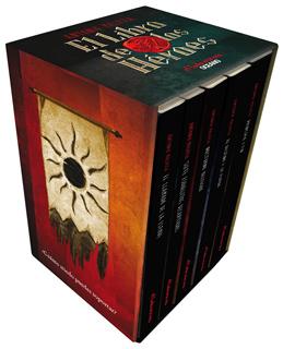 EL LIBRO DE LOS HEROES (PAQUETE CON 5 VOLUMENES)