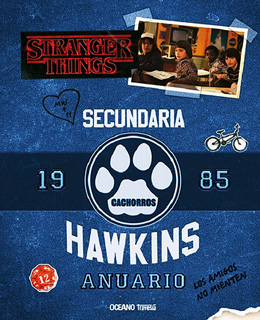STRANGER THINGS 2: ANUARIO 1985 SECUNDARIA HAWKINS
