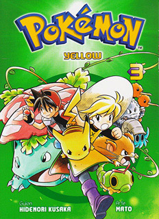 POKEMON YELLOW TOMO 3 (MANGA)
