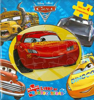 MI PRIMER LIBRO DE ROMPECABEZAS: DISNEY CARS 3