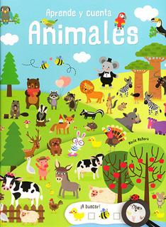 APRENDE Y CUENTA: ANIMALES