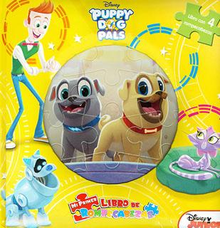 PUPPY DOG PALS (LIBRO CON 4 ROMPECABEZAS)
