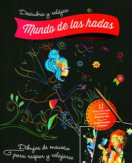 LIBRO PARA RASPAR: MUNDO DE LAS HADAS