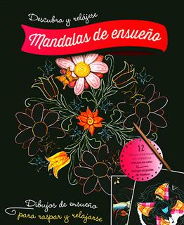 LIBRO PARA RASPAR: MANDALAS DE ENSUEÑO