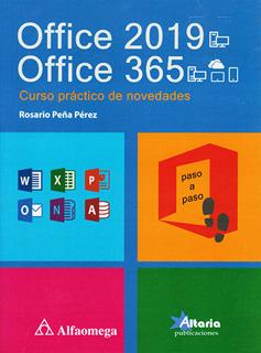 OFFICE 2019, OFFICE 365: CURSO PRACTICO DE...