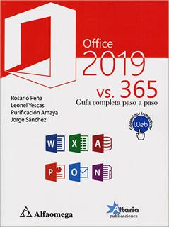 OFFICE 2019 VS 365 GUIA COMPLETA PASO A PASO