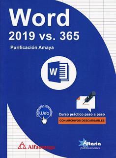 WORD 2019 VS 365: CURSO PRACTICO PASO A PASO