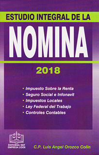ESTUDIO INTEGRAL DE LA NOMINA 2018