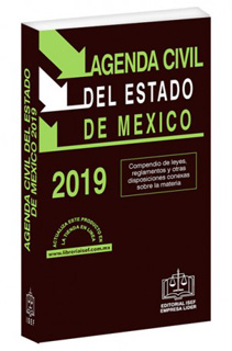 AGENDA CIVIL DEL ESTADO DE MEXICO 2019 (CODIGO)