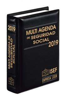 MULTI AGENDA DE SEGURIDAD SOCIAL 2019 (EJECUTIVA)