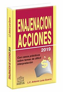 REGIMEN FISCAL DE LA ENAJENACION DE ACCIONES 2019