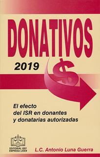 DONATIVOS 2019 EL EFECTO DEL ISR EN DONANTES Y...