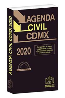 AGENDA CIVIL DE LA CIUDAD DE MEXICO 2020