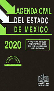 AGENDA CIVIL DEL ESTADO DE MEXICO 2020 - CODIGO...