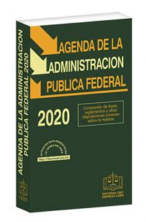 AGENDA DE LA ADMINISTRACION PUBLICA FEDERAL 2020...