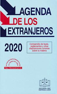 AGENDA DE LOS EXTRANJEROS 2020
