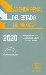 AGENDA PENAL DEL ESTADO DE MEXICO 2020