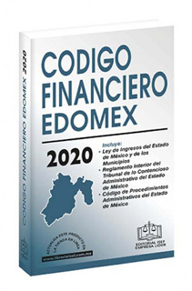 CODIGO FINANCIERO DEL ESTADO DE MEXICO 2020
