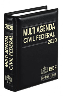 MULTI AGENDA CIVIL FEDERAL Y COMPLEMENTO 2020...
