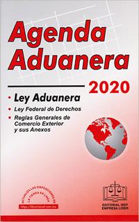 AGENDA ADUANERA Y REGLAMENTO 2020