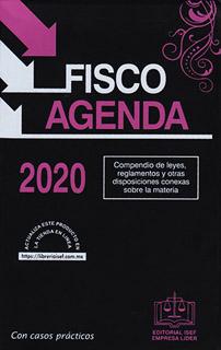 FISCO AGENDA 2020 (EDICION ESPECIAL ROSA)