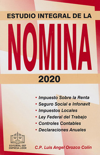 ESTUDIO INTEGRAL DE LA NOMINA 2020