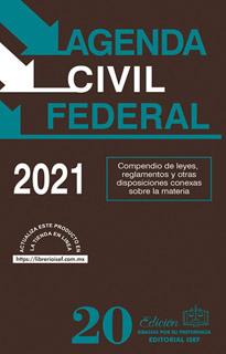 AGENDA CIVIL FEDERAL 2021