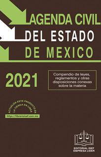 AGENDA CIVIL DEL ESTADO DE MEXICO 2021 - CODIGO...