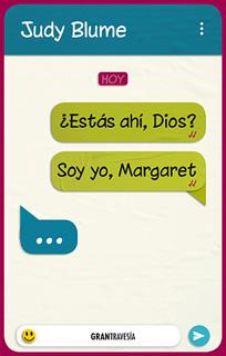 ¿ESTAS AHI, DIOS ? SOY YO, MARGARET