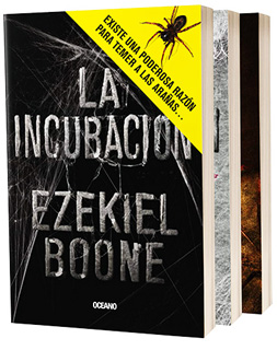 SERIE LA INCUBACION 3 VOLUMENES