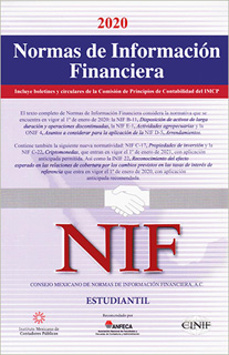 NORMAS DE INFORMACION FINANCIERA (NIF) 2020...