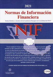 NORMAS DE INFORMACION FINANCIERA (NIF) 2021...