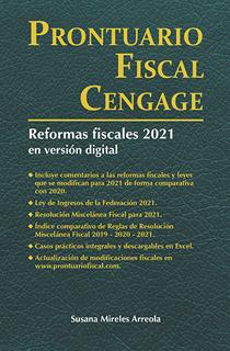 PRONTUARIO FISCAL CENGAGE 2021