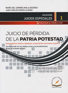 JUICIO DE PERDIDA DE LA PATRIA POTESTAD
