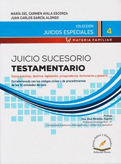 JUICIO SUCESORIO TESTAMENTARIO
