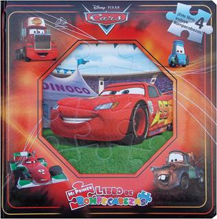 CARS (LIBRO CON 4 ROMPECABEZAS)