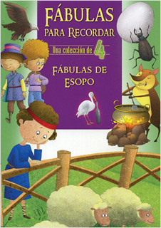 UNA COLECCION DE 4: FABULAS PARA RECORDAR DE ESOPO