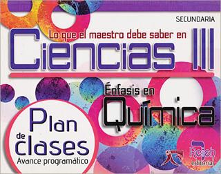 LO QUE EL MAESTRO DEBE SABER EN CIENCIAS 3:...