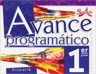 AVANCE PROGRAMATICO 1 PRIMARIA PLANES DE CLASE