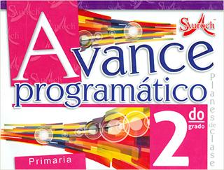 AVANCE PROGRAMATICO 2 PRIMARIA PLANES DE CLASE