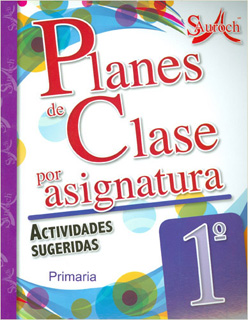 PLANES DE CLASE POR ASIGNATURA 1 PRIMARIA...