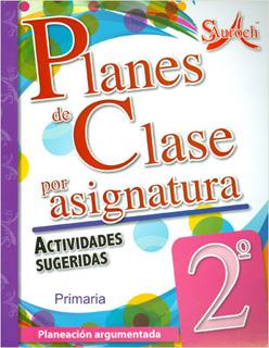 PLANES DE CLASE POR ASIGNATURA 2 PRIMARIA...