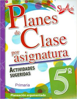 PLANES DE CLASE POR ASIGNATURA 5 PRIMARIA...