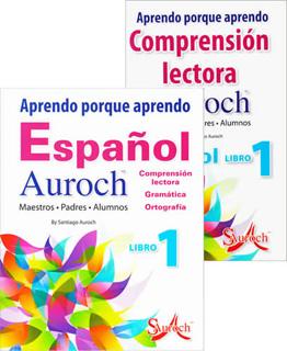 APRENDO PORQUE APRENDO ESPAÑOL AUROCH 1 (INCLUYE...