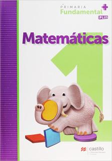 MATEMATICAS 1 PRIMARIA FUNDAMENTAL PLUS