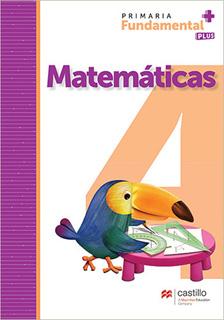 MATEMATICAS 4 PRIMARIA FUNDAMENTAL PLUS