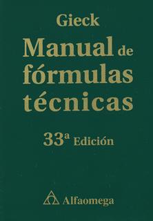 MANUAL DE FORMULAS TECNICAS (AMPLIADA)